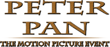 Peter Pan - The Motion Picture Event logo