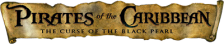 Pirates of the Caribbean - The Curse of the Black Pearl logo