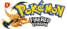 Pokemon - Fire Red Version logo