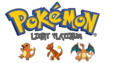 Pokemon - Light Platinum logo