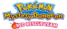 Pokemon Mystery Dungeon - Red Rescue Team logo