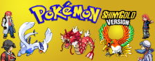 Pokemon Shiny Gold logo