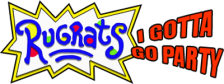 Rugrats - I Gotta Go Party logo