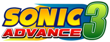 Sonic Advance 3 logo