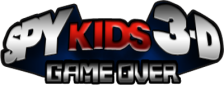 Spy Kids 3-D - Game Over logo