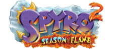Spyro 2 - Season of Flame logo