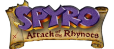 Spyro - Attack of the Rhynocs logo