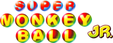 Super Monkey Ball Jr. logo