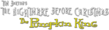 Tim Burton's The Nightmare Before Christmas - The Pumpkin King logo