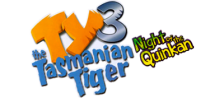 Ty the Tasmanian Tiger 3 - Night of the Quinkan logo