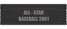 All-Star Baseball 2001 logo