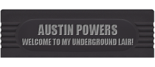 Austin Powers - Welcome to my Underground Lair! logo