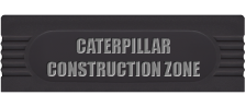 Caterpillar Construction Zone logo