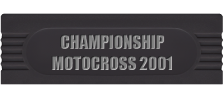 Championship Motocross 2001 featuring Ricky Carmichael logo