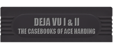 Deja Vu I & II - The Casebooks of Ace Harding logo