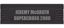 Jeremy McGrath Supercross 2000 logo