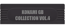 Konami GB Collection Vol.4 logo