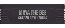 Maya the Bee - Garden Adventures logo