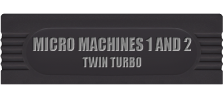 Micro Machines 1 and 2 - Twin Turbo logo