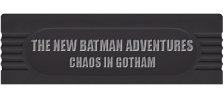 New Batman Adventures, The - Chaos in Gotham logo