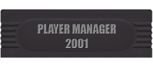 Player Manager 2001 logo