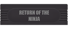 Return of the Ninja logo