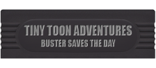 Tiny Toon Adventures - Buster Saves the Day logo