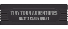 Tiny Toon Adventures - Dizzy's Candy Quest logo