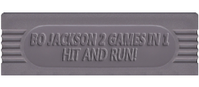Bo Jackson - Two Games in One logo