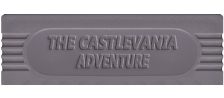 Castlevania Adventure, The logo