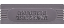 Choplifter II - Rescue & Survive logo