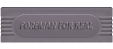Foreman for Real logo