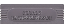 Gradius - The Interstellar Assault logo