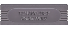 Tom and Jerry - Frantic Antics! logo