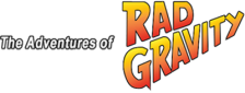 Adventures of Rad Gravity, The logo