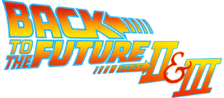Back to the Future Part II & III logo