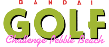 Bandai Golf - Challenge Pebble Beach logo