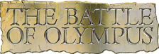 Battle of Olympus, The logo