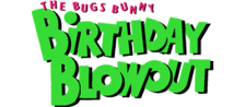 Bugs Bunny Birthday Blowout, The logo