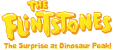 Flintstones, The - The Surprise at Dinosaur Peak! logo