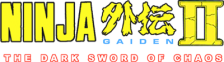 Ninja Gaiden II - The Dark Sword of Chaos logo