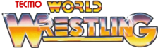 Tecmo World Wrestling logo