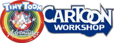 Tiny Toon Adventures Cartoon Workshop logo