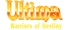 Ultima - Warriors of Destiny logo