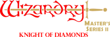 Wizardry - Knight of Diamonds - The Second Scenario logo