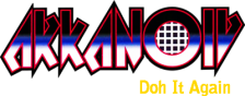 Arkanoid - Doh It Again logo