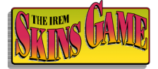 Irem Skins Game, The logo