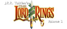 J.R.R. Tolkien's The Lord of the Rings, Vol. I logo