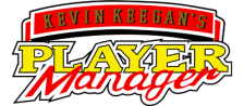 Kevin Keegan's Player Manager logo