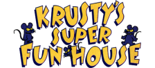 Krusty's Super Fun House logo